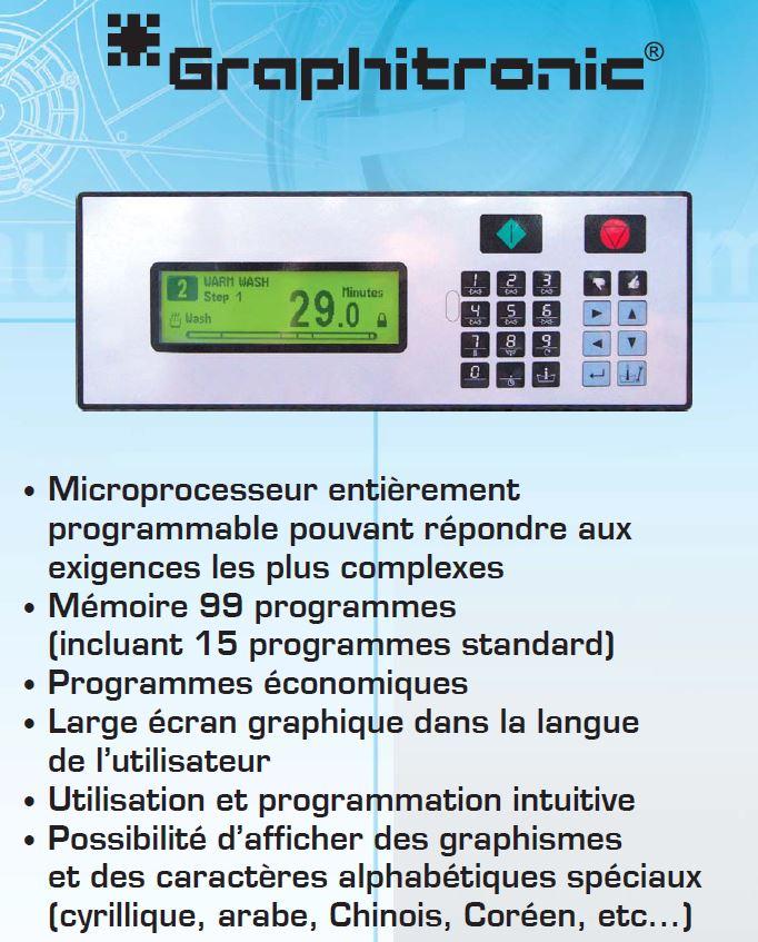 Microprocesseur entièrement programmable pour laveuse essoreuse aseptique Primus MB140