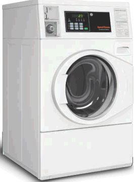 machine à laver professionnelle cuve suspendue HORIZON de speed queen pour les collectivités et laverie résidentielle libre service