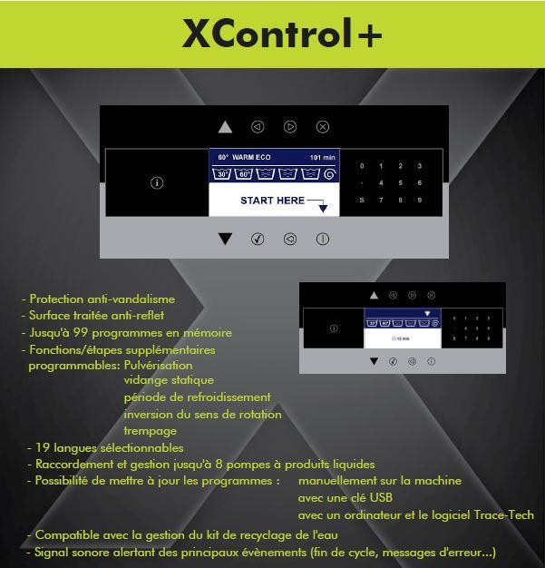 Microprocesseur entièrement programmable pour laveuse essoreuse aseptique Primus MXB360