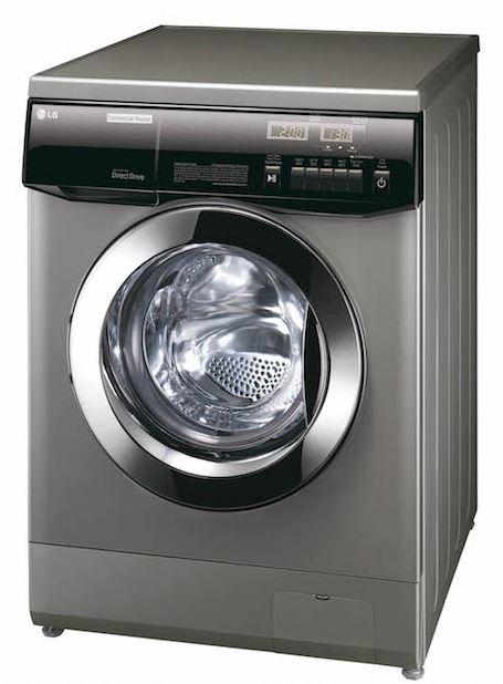Machine à laver frontale professionnelle à cuve suspendue LG ATOM pour les collectivités et laverie résidentielle libre service