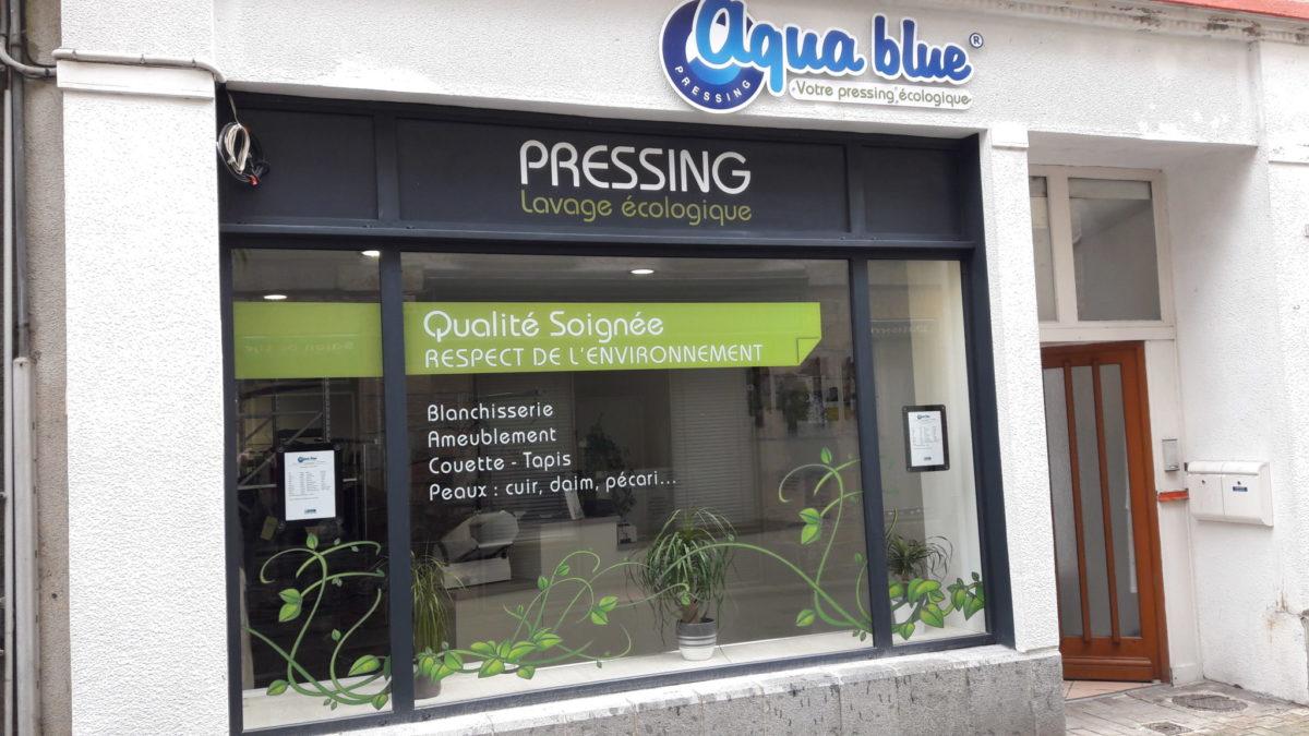 Aqua blue est un concept de pressing écologique performant partout en France