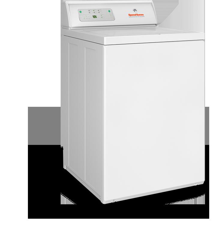 lave linge semi-professionel à chargement sur le dessus cuve suspendue Speed Queen LWN pour petite buanderie de particulier ou un gîte