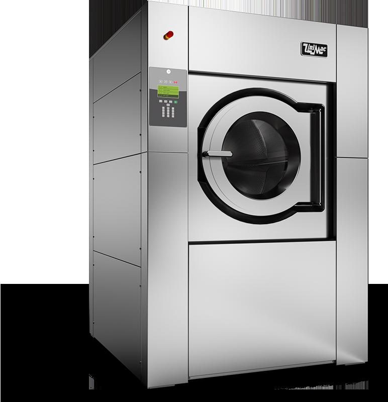 laveuse super essoreuse cuve suspendue Unimac UY450 pour les blanchisseries et un usage industriel